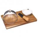 wholesale Table Linen:cheese set 4p acacia