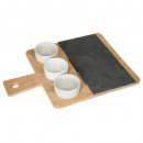 wholesale Household & Kitchen:set bamboo slate 4p