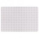 Rosa Mosaik Tischset 45x30