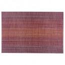 Großhandel Tischwäsche: Roter  Sonnenuntergang Tisch Set 45x30, rot