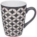 mug ronde colorfield gris fo 30, 3-fois assorti
