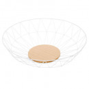 white diamond basket 40cm