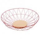 red diamond basket 40cm
