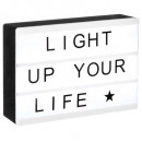 magnetic light box a6, black & white