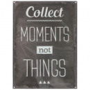 sticker relief collect moments, noir & blanc