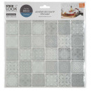 tiling sticker 36 c gray x2, gray