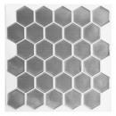 nagyker Faltetoválás: caro matrica 12 hex rozsdamentes x2, ezüst