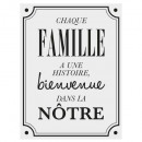 wholesale Wall Tattoos: sticker txt 30x40 family, 3- times assorted , blac