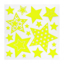 kids phosphorescent sticker, 3- times assorted , y