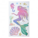 kids fairy glitter stickers, 4- times assorted , m