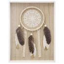 marco madera sueño folk30x40, blanco