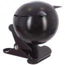 cenicero bola de metal + clip nr d9, negro