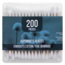 Großhandel Drogerie & Kosmetik: Baumwolle stammt 2x200 Bambus