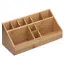 bamboo compartment organizer