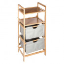 shelf 2 baskets / 1 tray gr