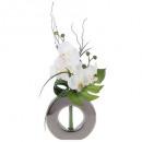 compo orch vase ceramique argen h44, 2-fois assort