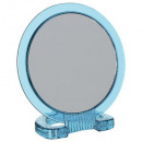 miroir double face pvc bleu, bleu