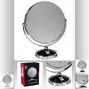 chrome mirror black foot