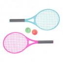 Mini raquetas x2 + bolas