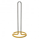 wiper holder all metal + pvc yellow, yellow
