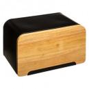 mayorista Fiambreras & Botellas: caja de pan + tablero de cubierta, negro