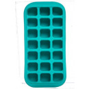 bac glacons silicone + plateau x21, 3-fois assorti
