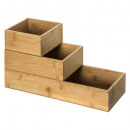 wholesale Office Furniture: organizer bamboo grout ts x3, colorless