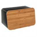 wholesale Kitchen Gadgets: bread box + chopping board neo, black