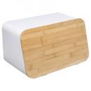 caja de pan de metal + modo bam blanco