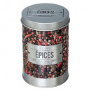 boite epices saupoudr relief 4, multicolore