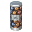 boite capsules relief 4, multicolore