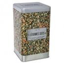 Caja de verduras seca 4, multicolor.