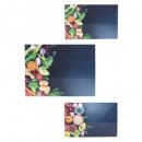 vegetable chopping board x 3