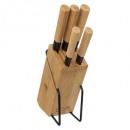 block 5 bamboo knives