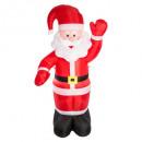 santa inflatable father christmas 180 cm