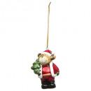 Christmas decoration ceram Santa Claus / Christmas