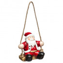 Christmas decoration ceram Santa Claus / Christmas