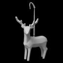 christmas decoration animal resin origam h10cm, 3-