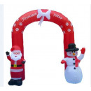 santa inflatable santa claus / christmas ball arch