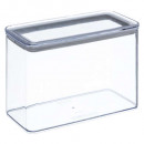 boite plast rectangle 2l eske, transparent