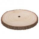 grossiste Maison et cuisine: assiette presentation ronde bois 35cm