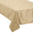 wholesale Table Linen: tablecloth taff gold + star gold 140x240