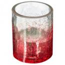 mayorista Casa y decoración: galleta de cristal tealight h7.5cm rg