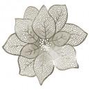 mayorista Casa y decoración: conjunto mesa flor d44cm dorado