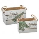 caja de decoración impresa con mango x2