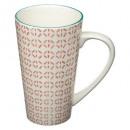 mug conique naples 45cl, 4-fois assorti, couleurs