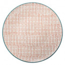 plate plate naples coral 27.5cm
