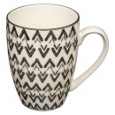 mug ronde tahila 34cl, 4-fois assorti, couleurs as