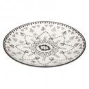 piatti presentazione tahila 32,5 cm, bianco e nero