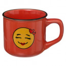 mug email smile 14cl, 4- times assorted